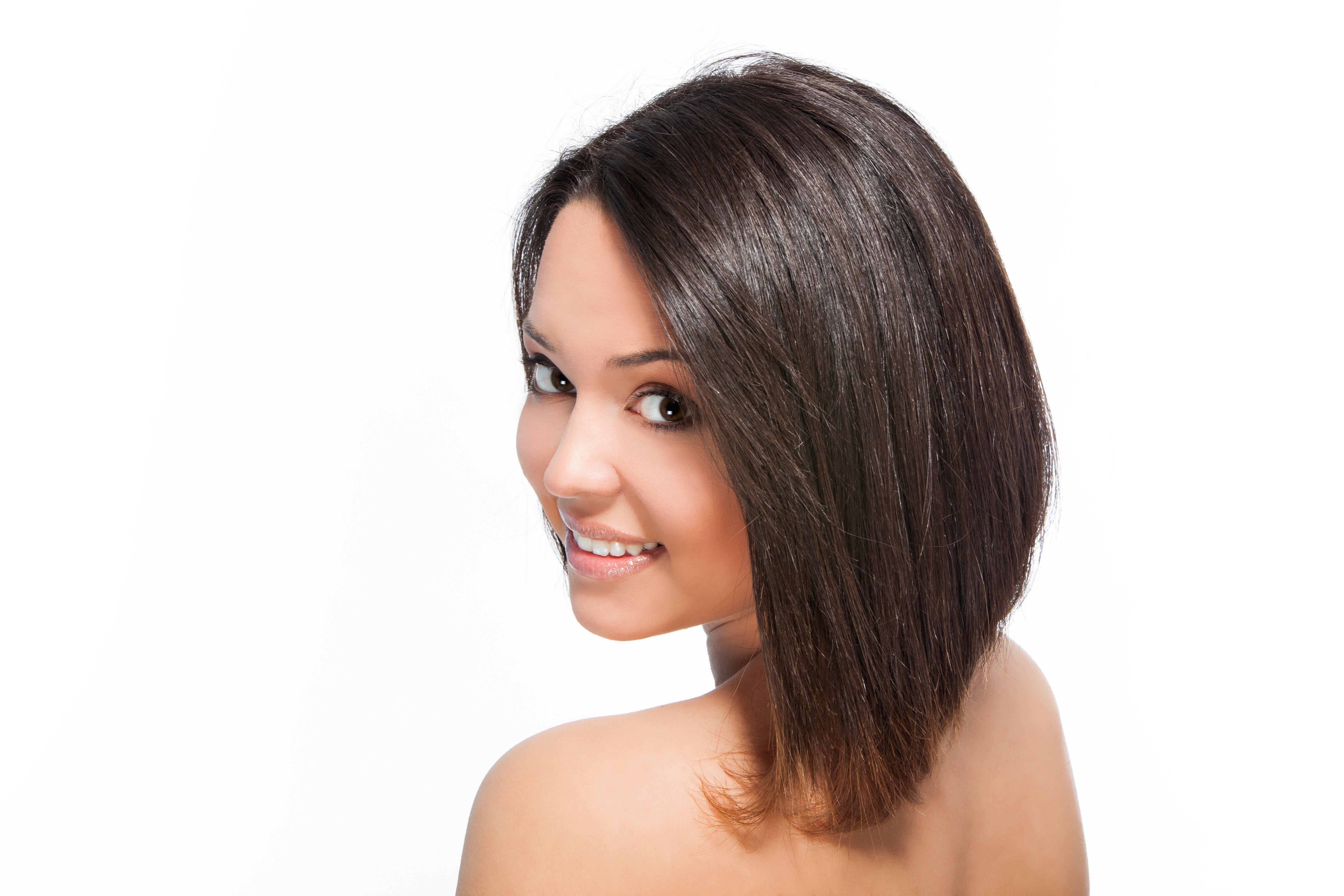 Прическа на длинные волосы каре прическа