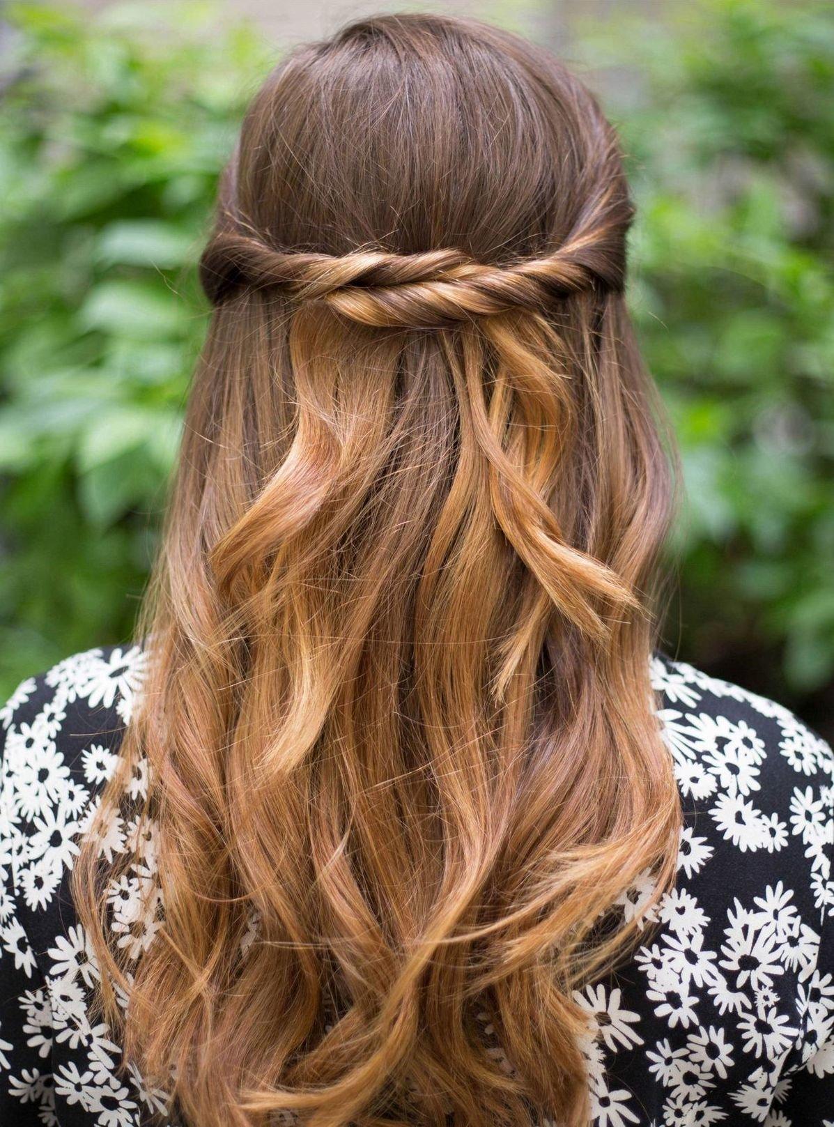 Красивые причёски со жгутом