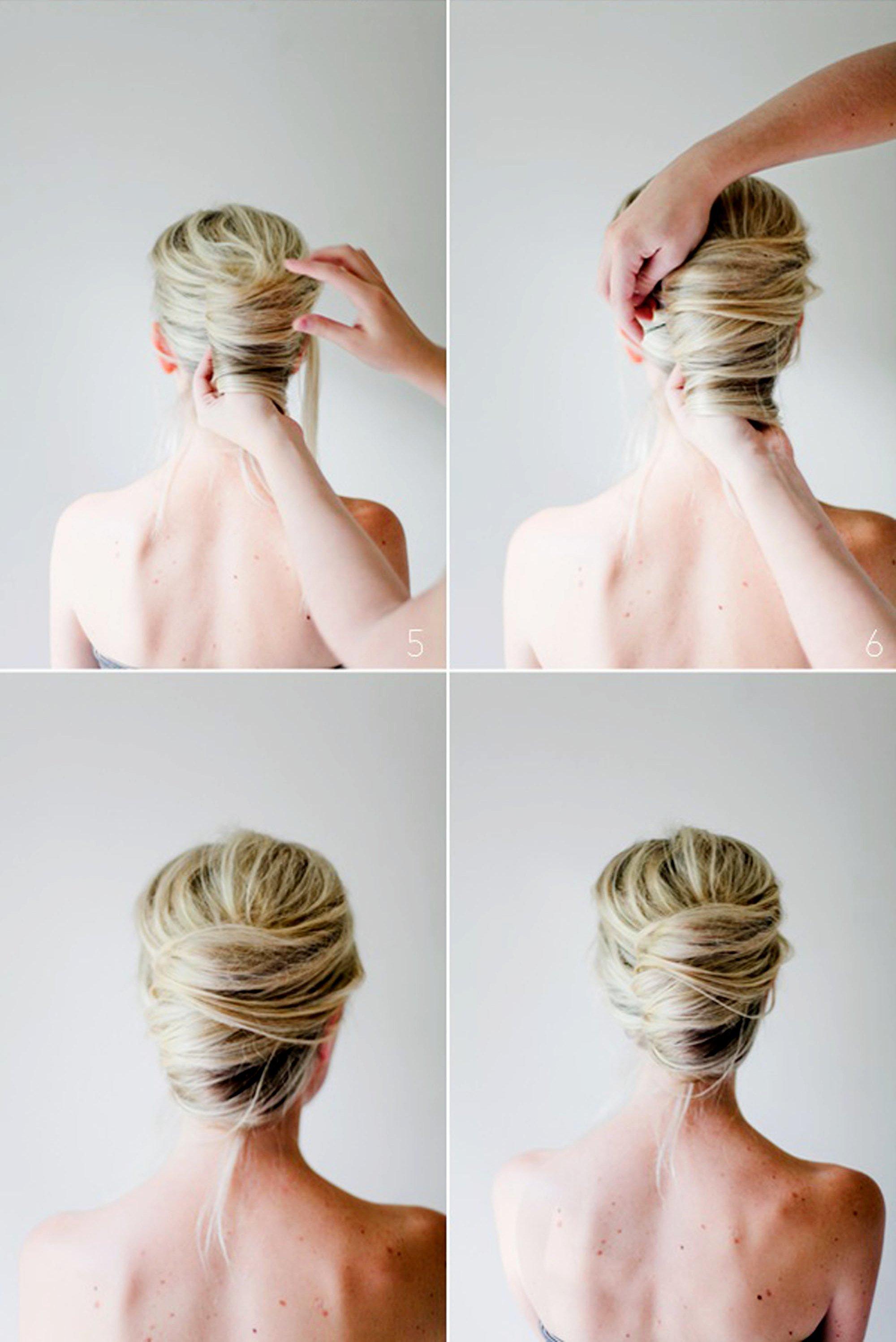 Причёски твист как делать