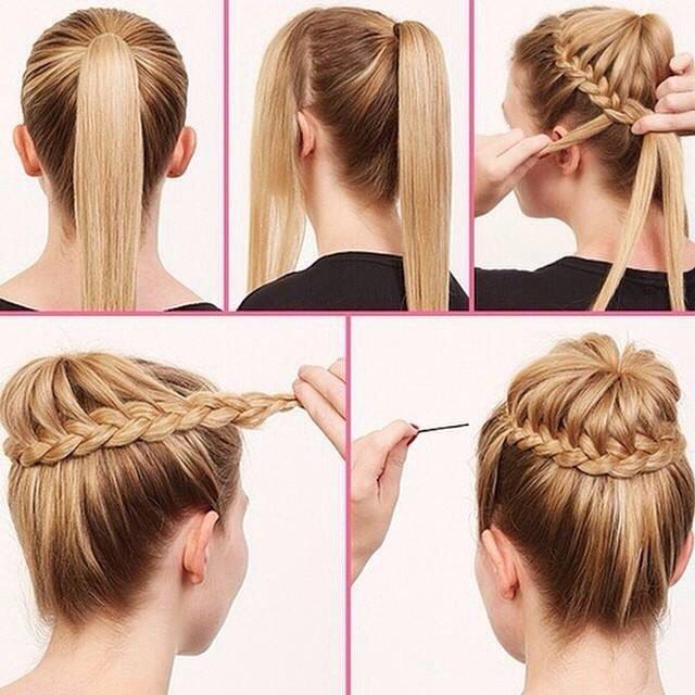 pricheski_na_srednie_volosi_-36 Прически на средние волосы: 100 фото самых стильных укладок