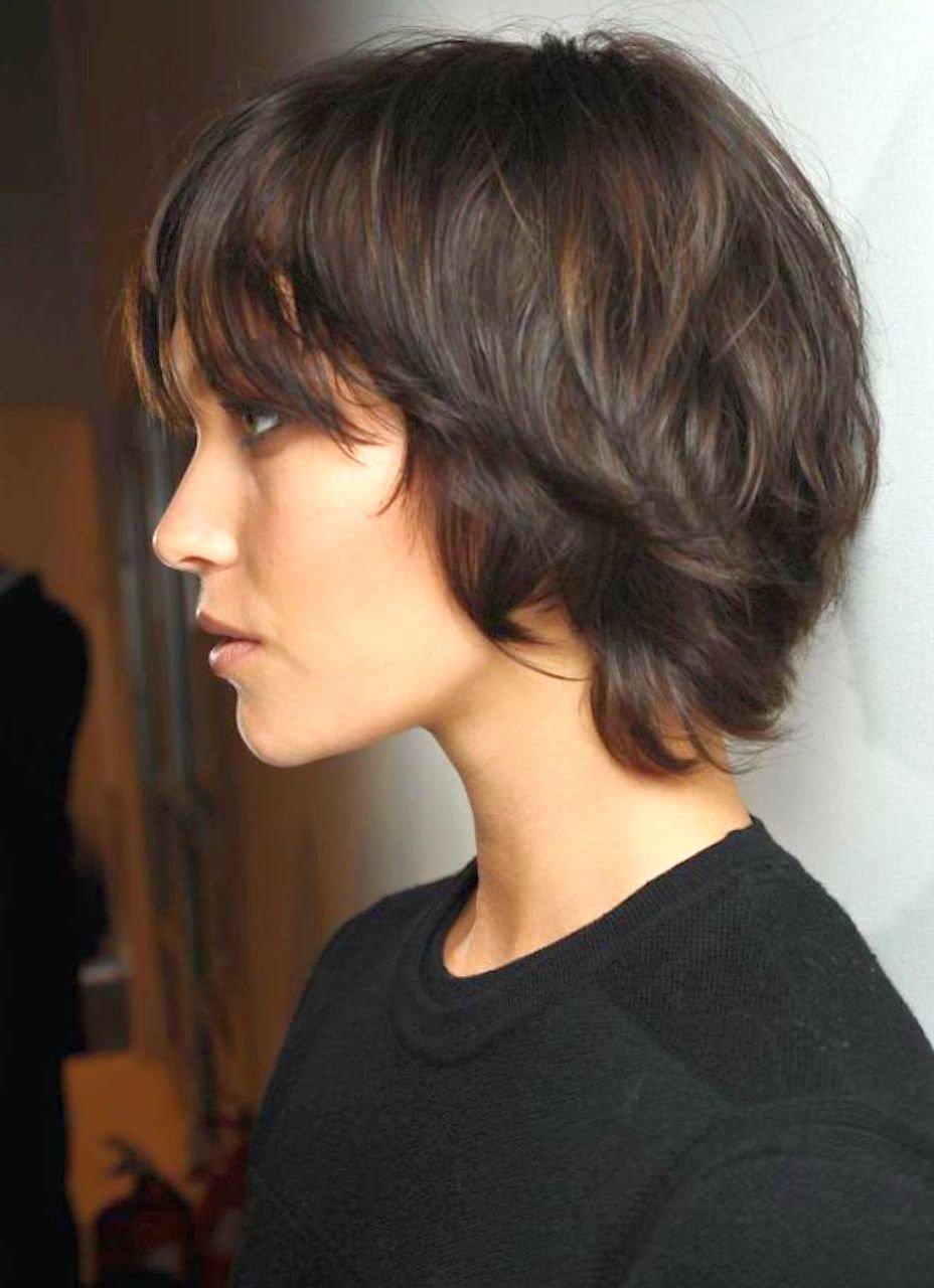 Пикси стрижка женская на средние волосы