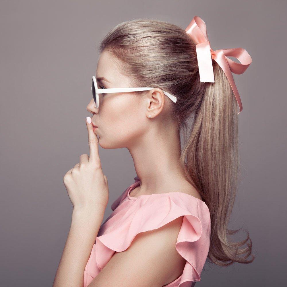 Как сделать ленту на волосы