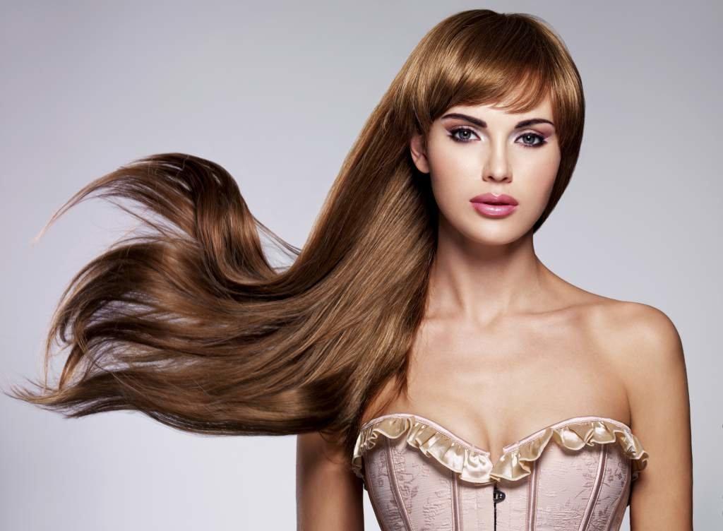 фото красивая укладка на длинные волосы
