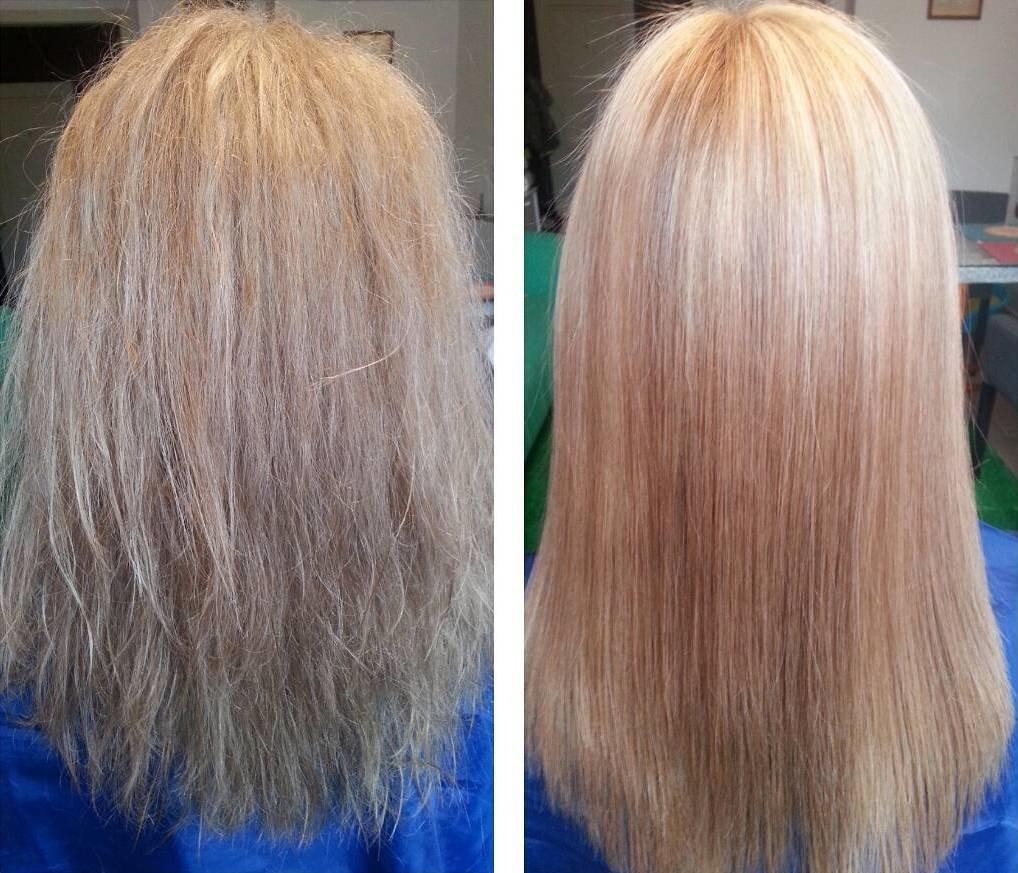 обесцвечивание волос отзывы фото до и после увеличением плотности бумаги