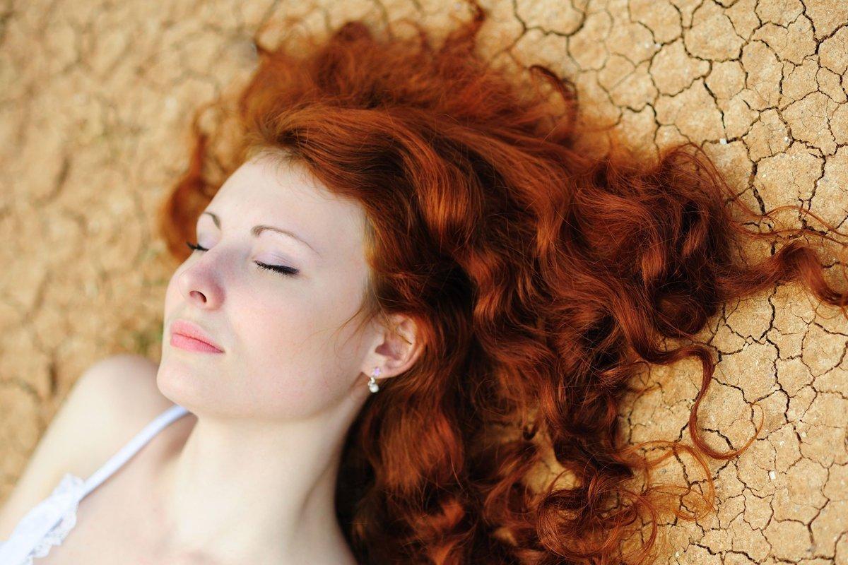 Волосы покрашенные в хной картинки