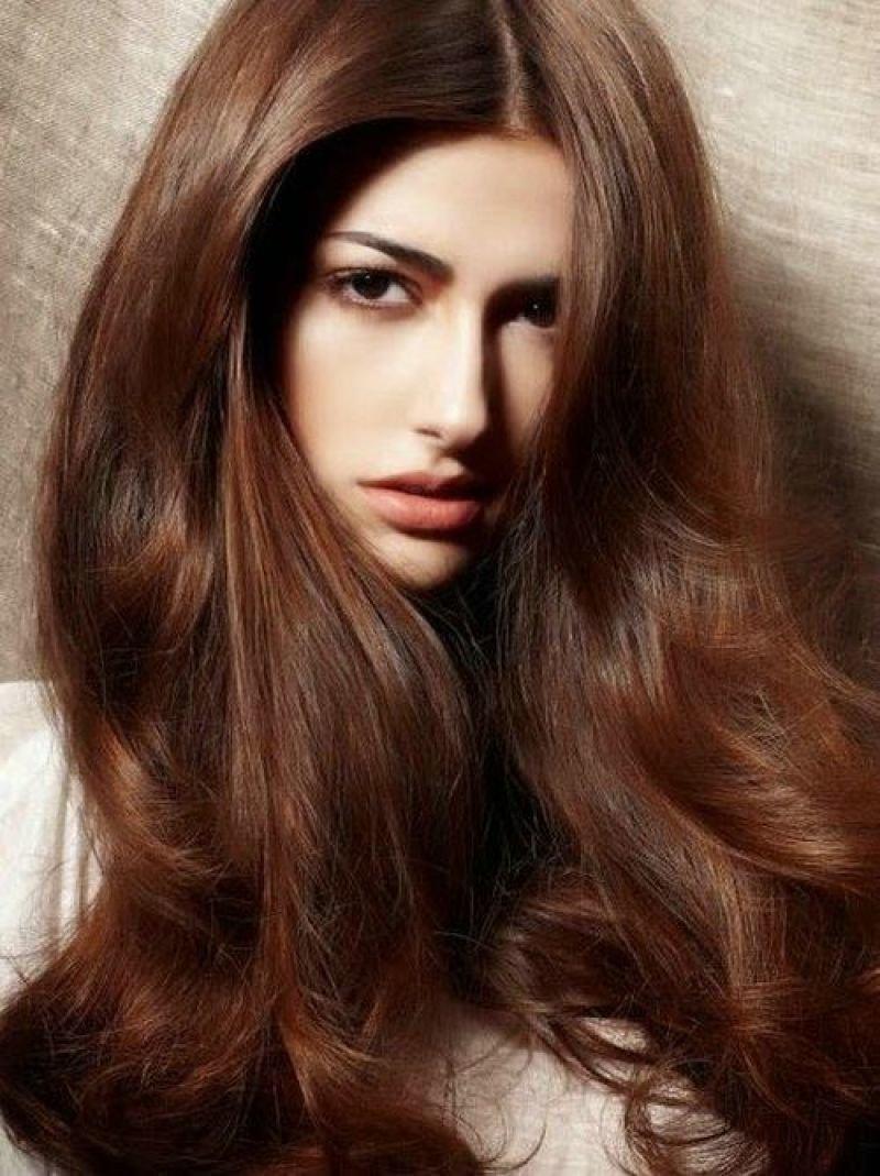 Шоколадный каштан цвет волос