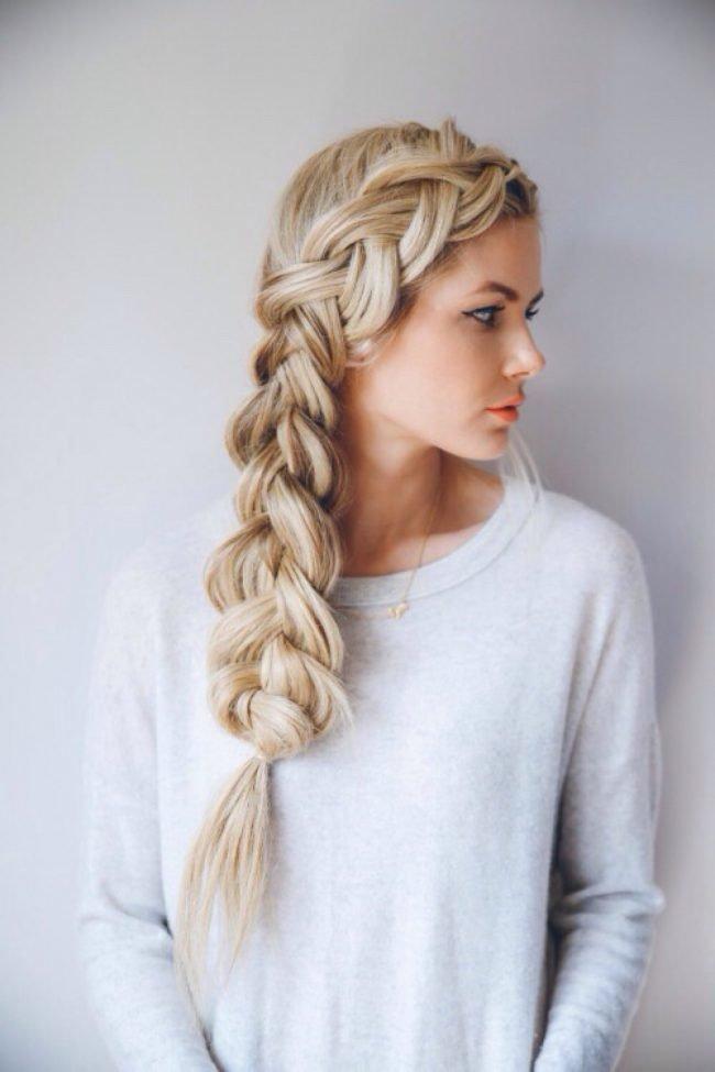 Волосы коса