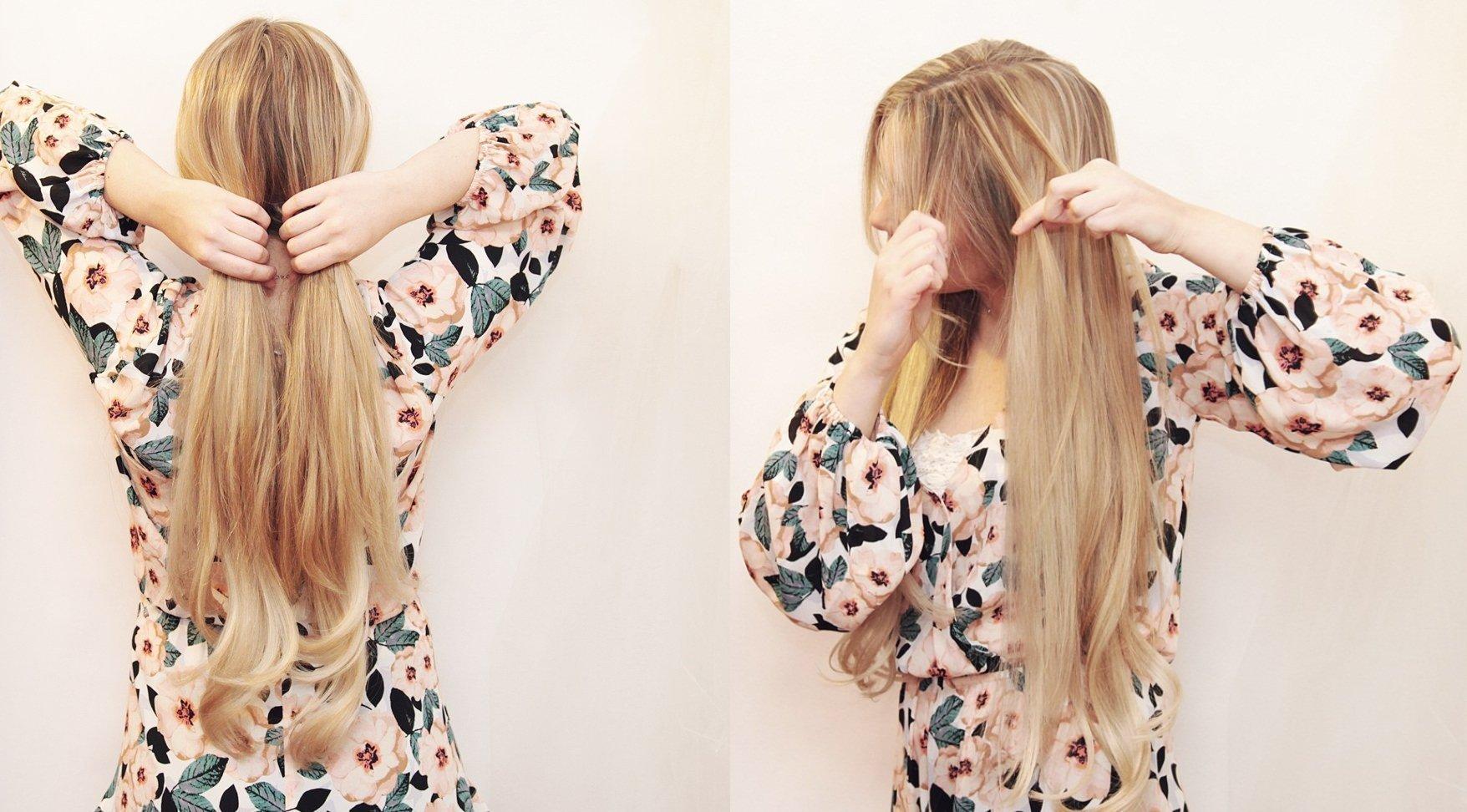 Прически на длинные волосы: 59 фото пошагово, видео - Wday