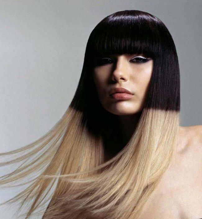 melirovanie_na_temnie_volosi_-51-650x707 Омбре на короткие волосы: варианты окрашивания, фото. Омбре окрашивание на темные короткие волосы и блонд в домашних условиях: фото