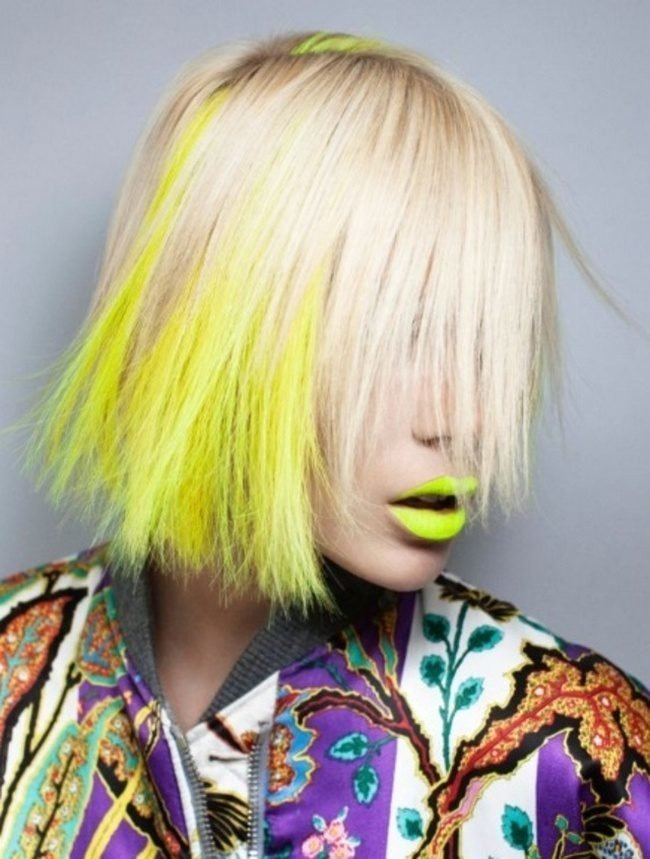 okrashivanie_ombre_-16-650x859 Омбре на короткие волосы: варианты окрашивания, фото. Омбре окрашивание на темные короткие волосы и блонд в домашних условиях: фото