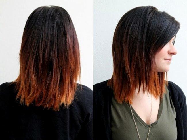 okrashivanie_ombre_-20-650x488 Омбре на короткие волосы: варианты окрашивания, фото. Омбре окрашивание на темные короткие волосы и блонд в домашних условиях: фото