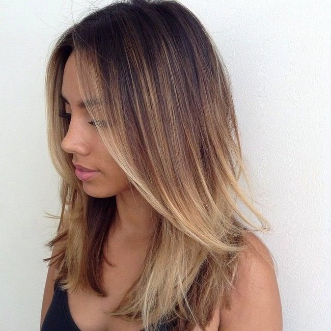 okrashivanie_ombre_-28-650x650 Омбре на короткие волосы: варианты окрашивания, фото. Омбре окрашивание на темные короткие волосы и блонд в домашних условиях: фото