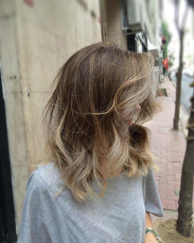 okrashivanie_ombre_-52-650x812 Омбре на короткие волосы: варианты окрашивания, фото. Омбре окрашивание на темные короткие волосы и блонд в домашних условиях: фото