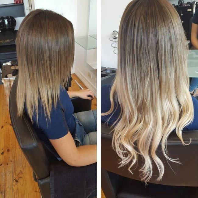okrashivanie_ombre_-54-650x649 Омбре на короткие волосы: варианты окрашивания, фото. Омбре окрашивание на темные короткие волосы и блонд в домашних условиях: фото