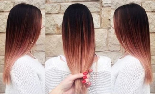 okrashivanie_ombre_-8-650x396 Омбре на короткие волосы: варианты окрашивания, фото. Омбре окрашивание на темные короткие волосы и блонд в домашних условиях: фото