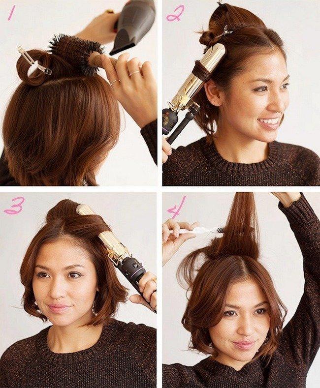Как сделать волосы более пышными 873