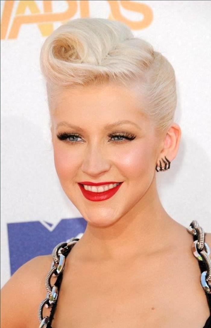 Glam rock hairstyles for women