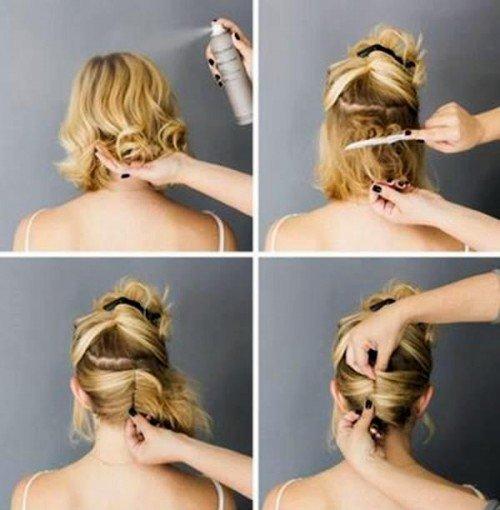 prostie_pricheski_-26-500x510 Простые прически на короткие волосы (100 фото) - укладки на каждый день