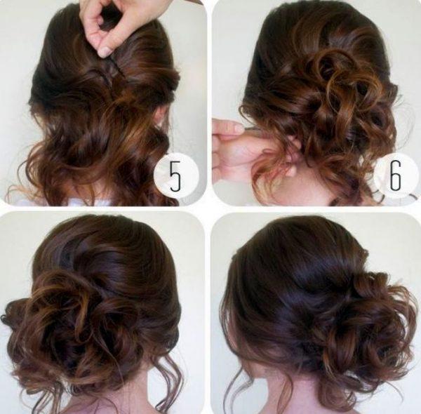Причёски на длинные кудрявые волосы своими руками пошагово