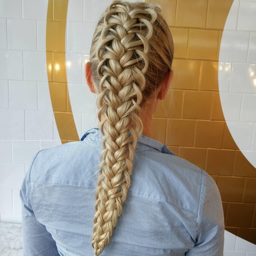 Как сделать плетение волос фото 844