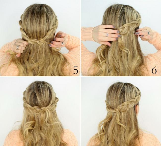Как научится плести красивые причёски самой себе