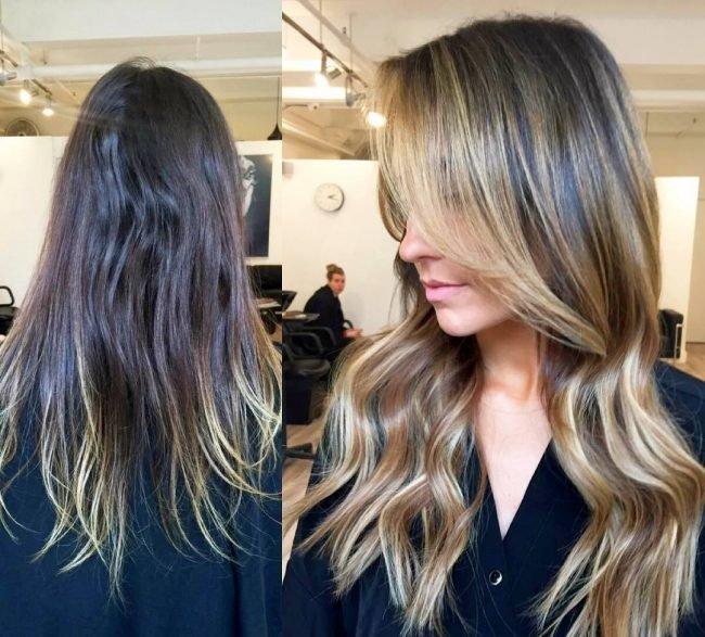 Как сделать синий цвет на волосах