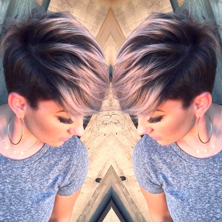 Мелирование на мелированные волосы - c