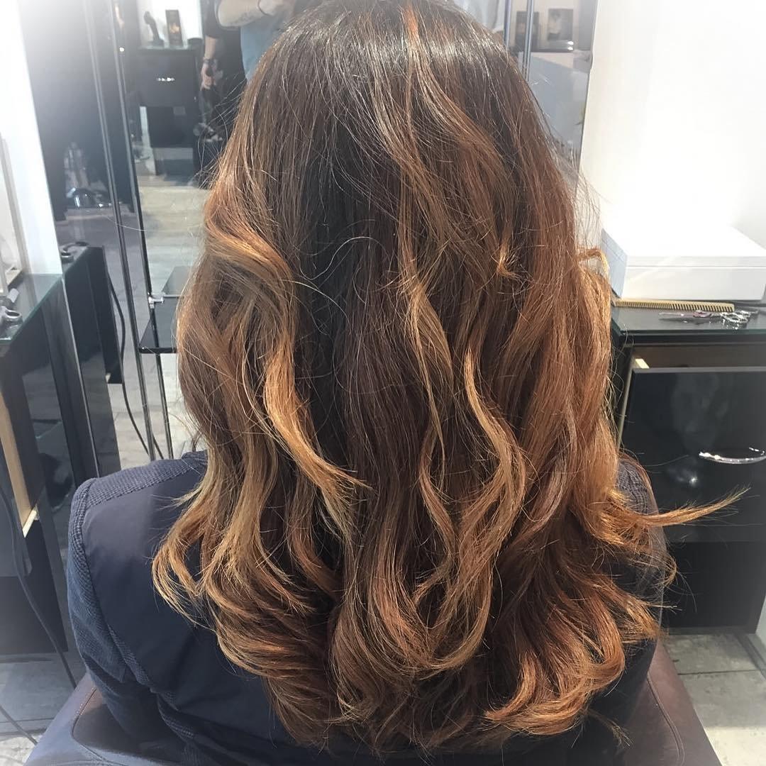Мелирование на мелированные волосы - 98a5