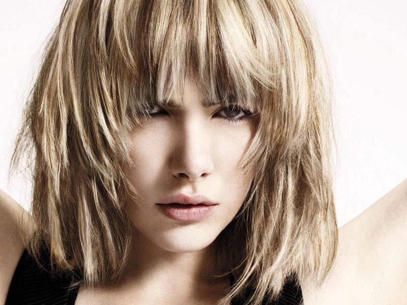 градуированное каре фото на длинные волосы-фото