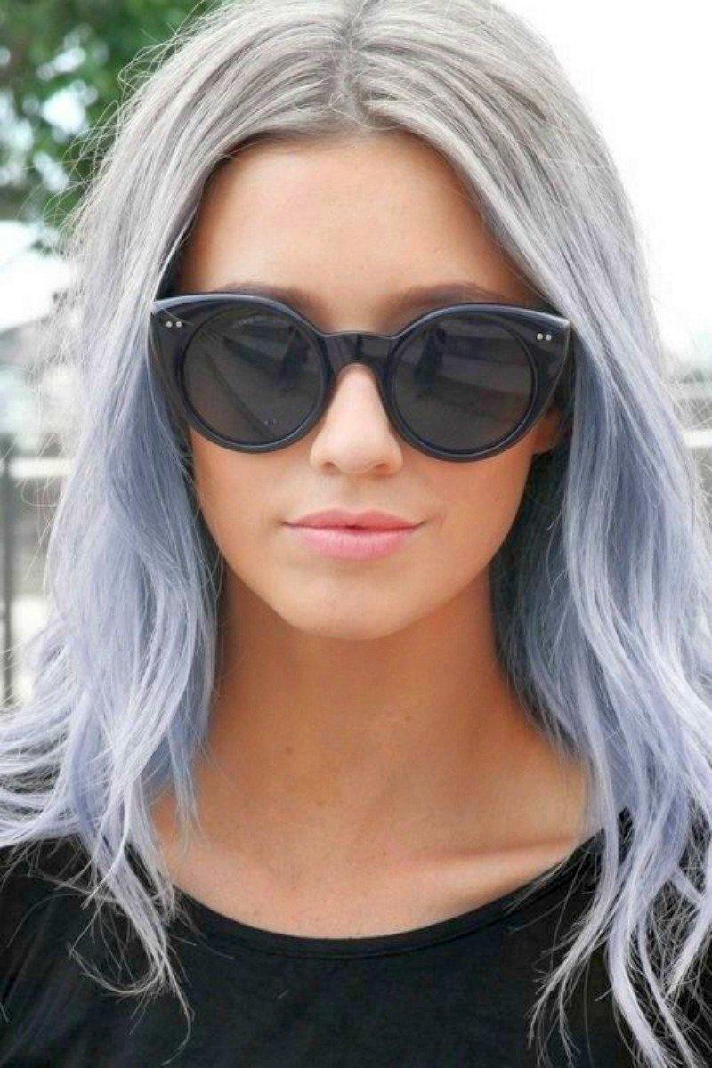 Колорирование на мелированные волосы - 8e92c