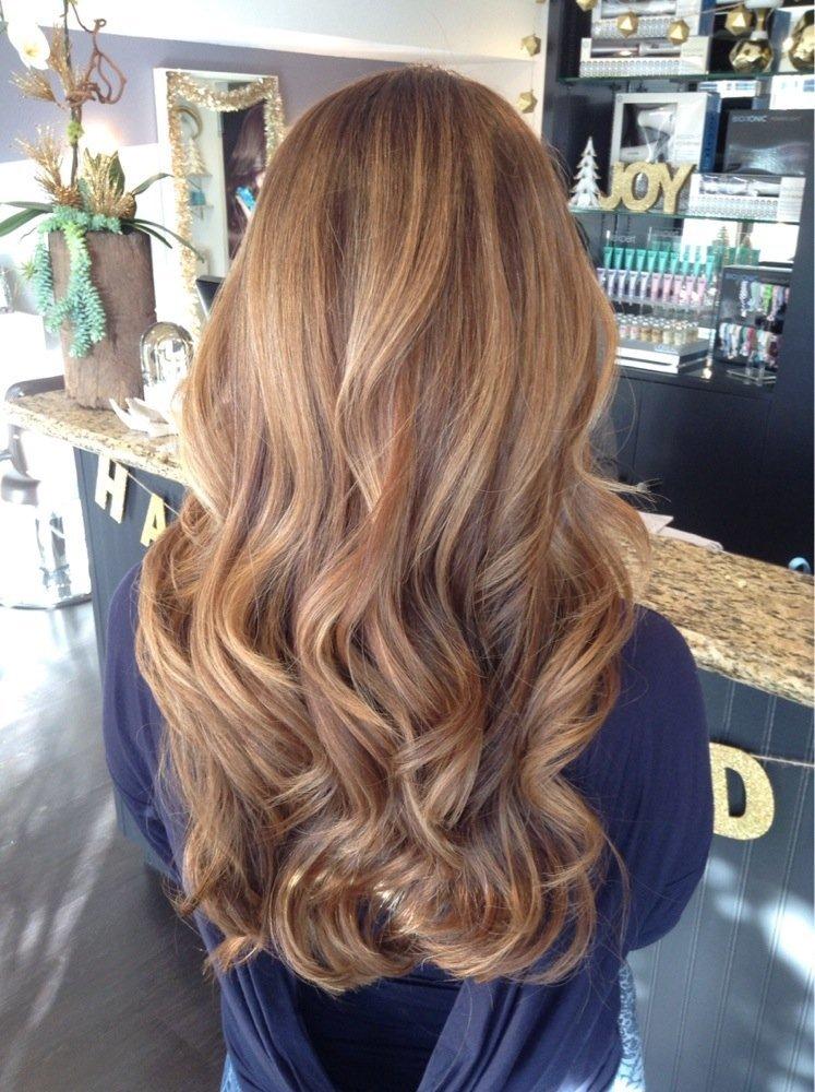 Медовые цвета волос фото