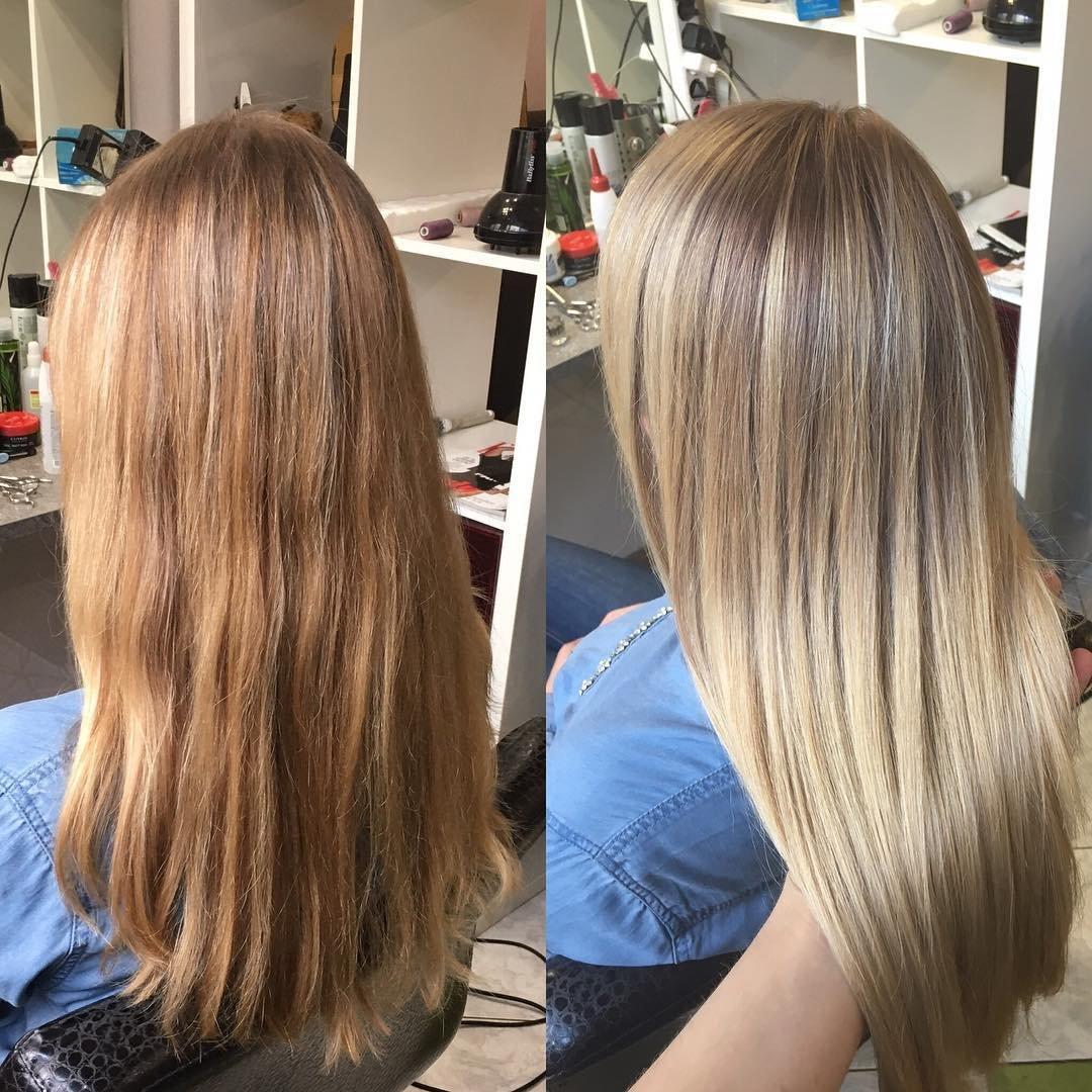 Как сделать осветление волос при домашних условиях 6