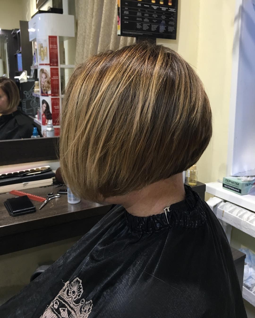 Шатуш на мелированные волосы фото - 54
