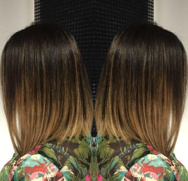 Шатуш на мелированные волосы фото - b50d1