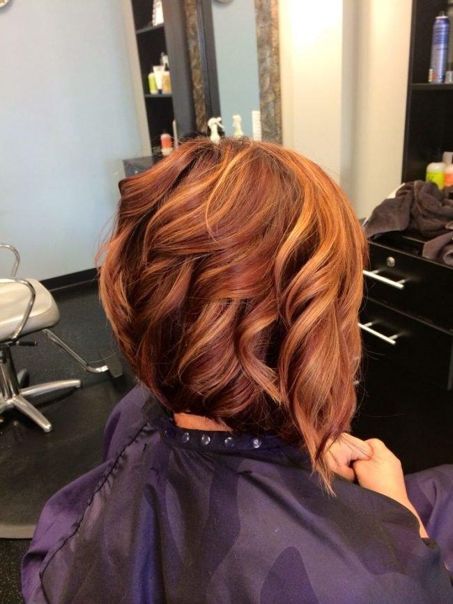 okrashivanie_volos_-26-650x866 Мелирование на рыжие волосы: фото до и после, окрашивание на медный цвет, с челкой и без, на короткие, длинные, крашеные