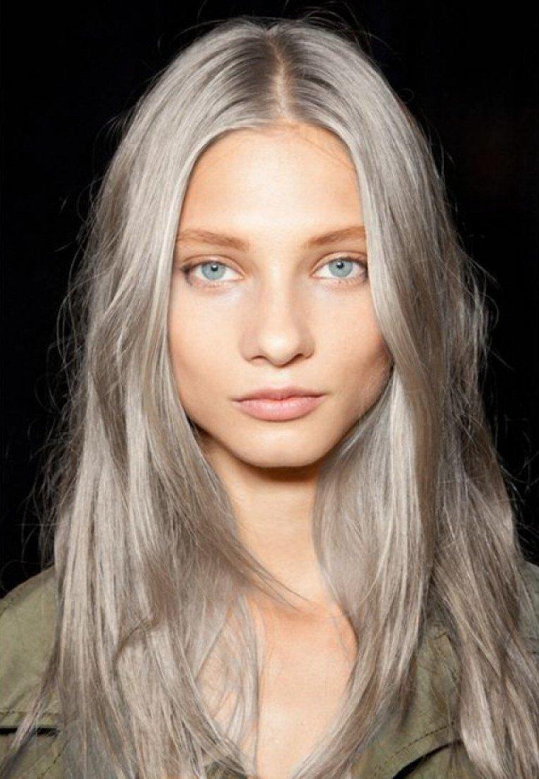 Серо-русый цвет волос фото