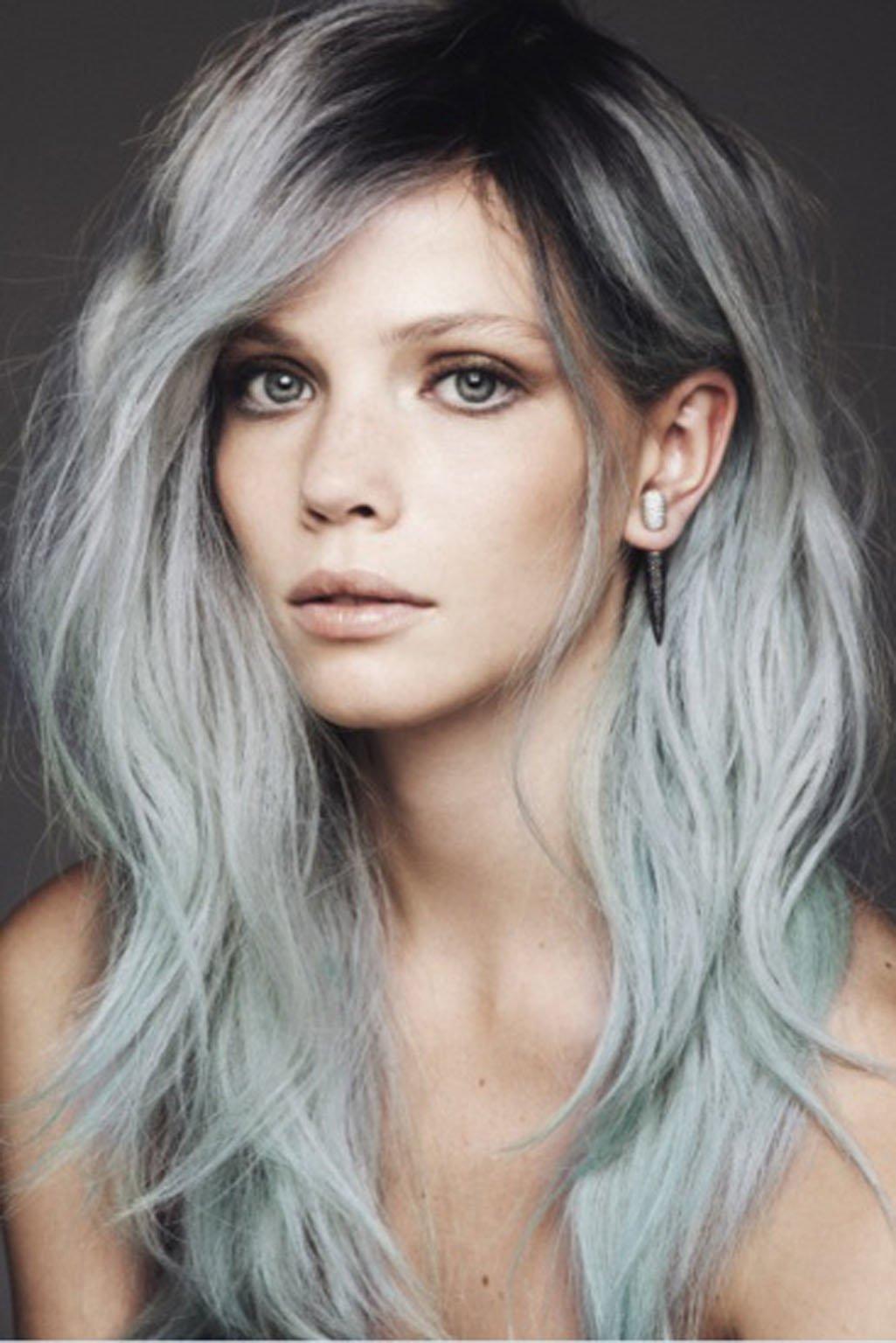 Светло-пепельный цвет волос фото
