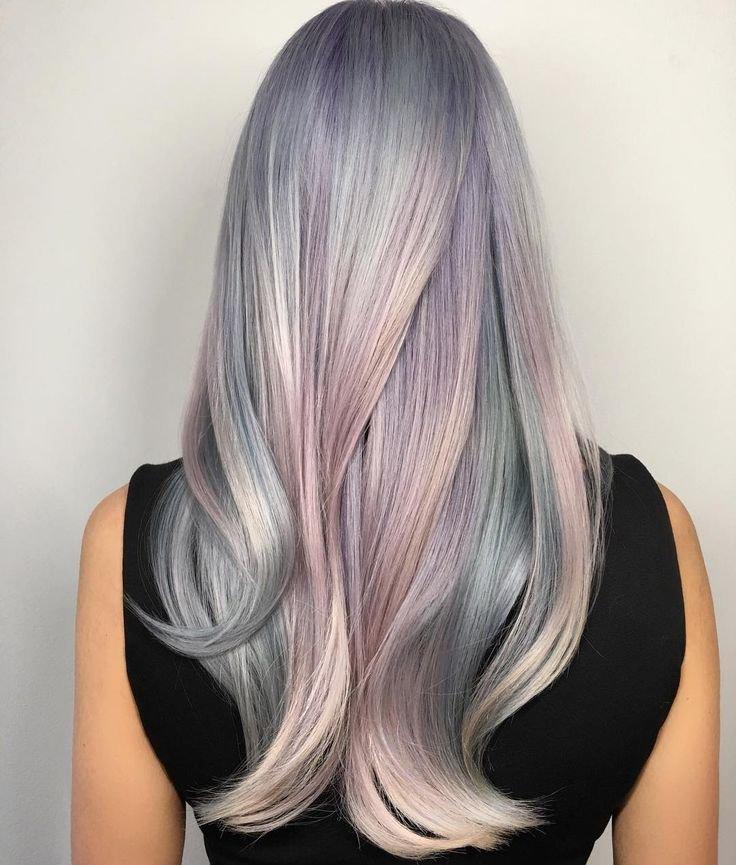 Окраска волос пепельный цвет волос