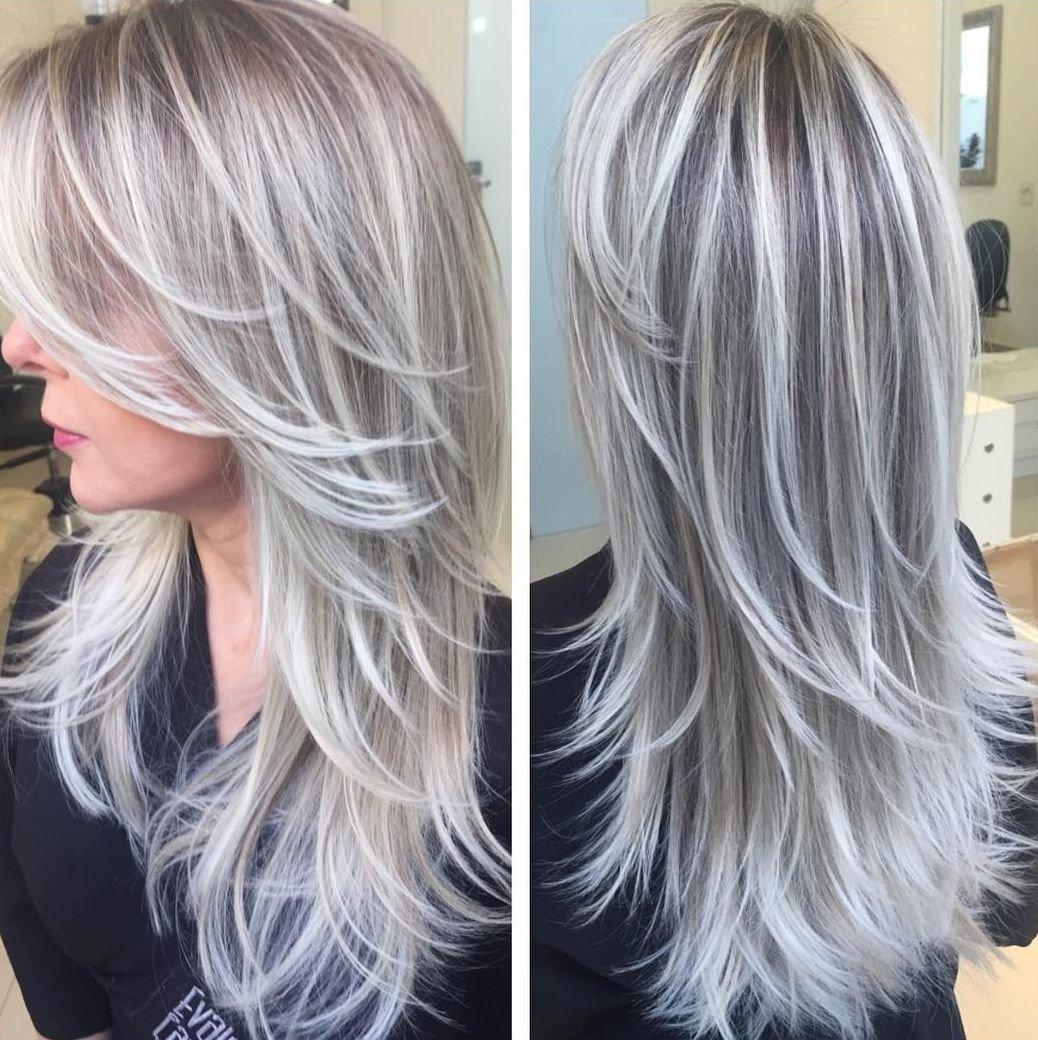 Фото мелирование волос пепельный цвет волос