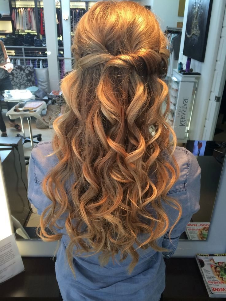 Hairstyles for prom long hair