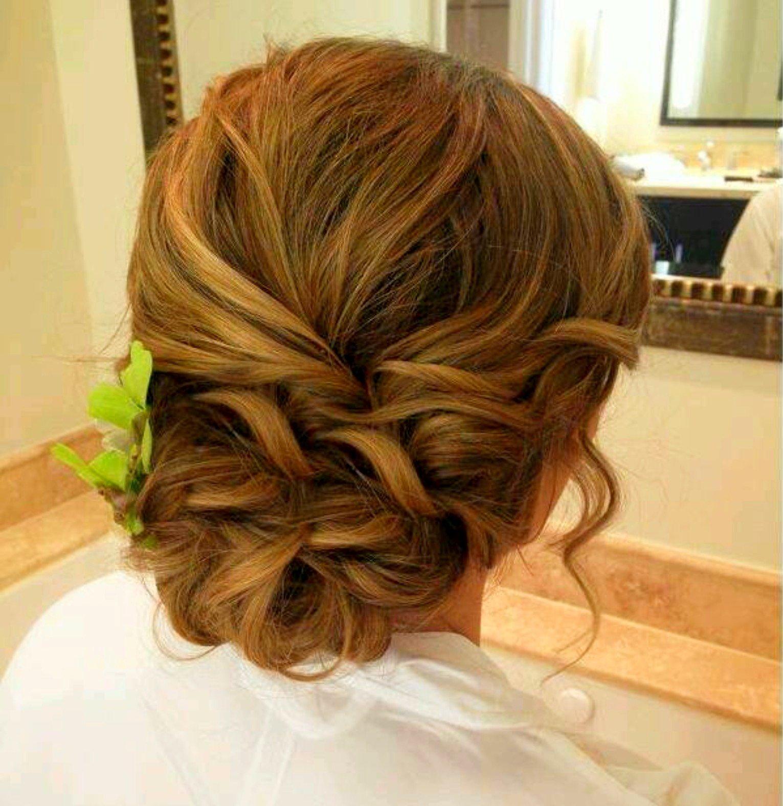Причёска на выпускной на короткие волосы 9 класс фото