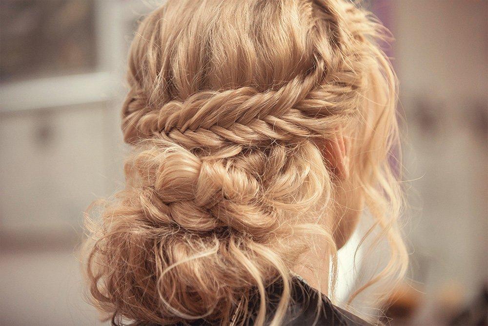 Свадебные прически из кос с фото и видео инструкциями по их созданию