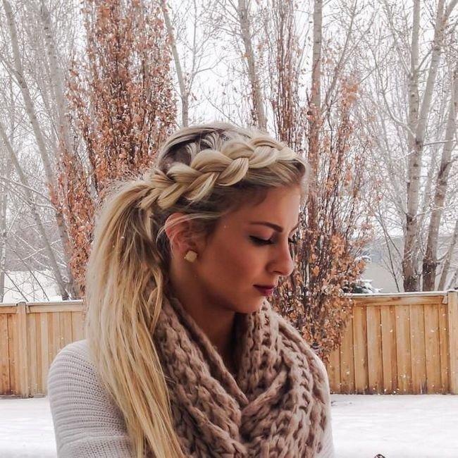 Любить девушку в длинные волосы