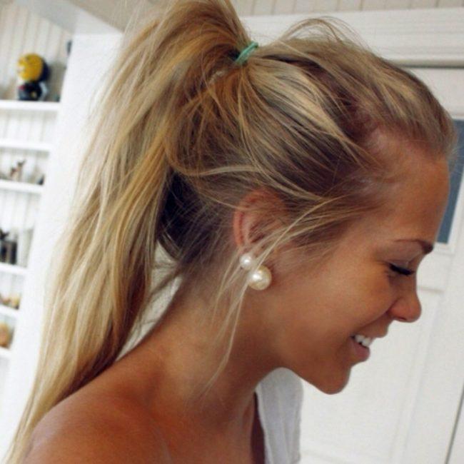 девушка с русыми волосами фото