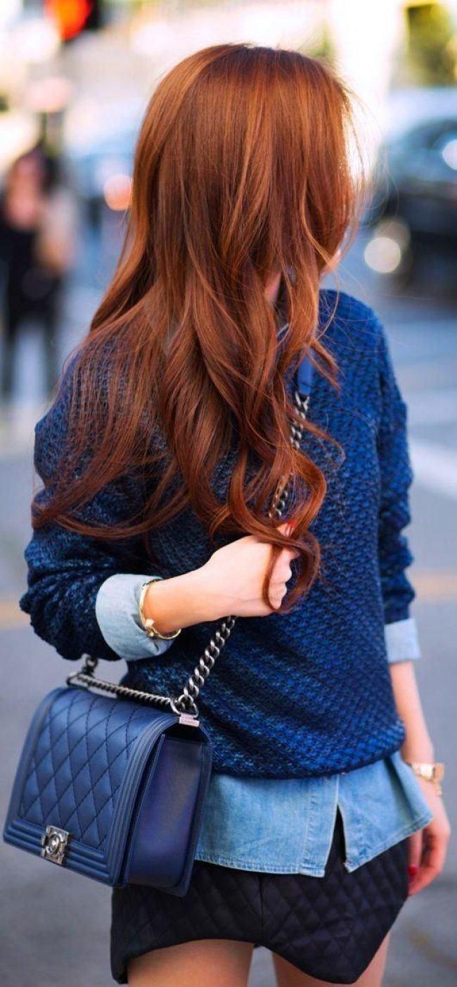 ryzhie_volosy_-18-650x1402 Мелирование на рыжие волосы: фото до и после, окрашивание на медный цвет, с челкой и без, на короткие, длинные, крашеные