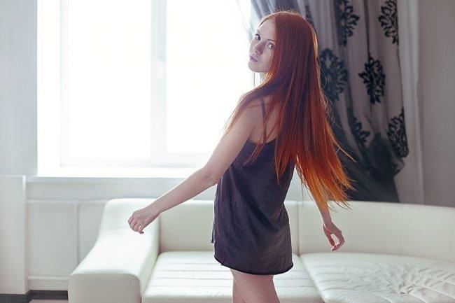 ryzhie_volosy_-22-650x433 Мелирование на рыжие волосы: фото до и после, окрашивание на медный цвет, с челкой и без, на короткие, длинные, крашеные