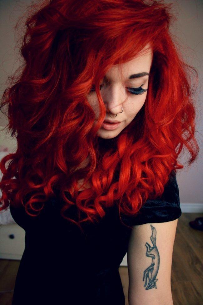 ryzhie_volosy_-48-650x975 Мелирование на рыжие волосы: фото до и после, окрашивание на медный цвет, с челкой и без, на короткие, длинные, крашеные
