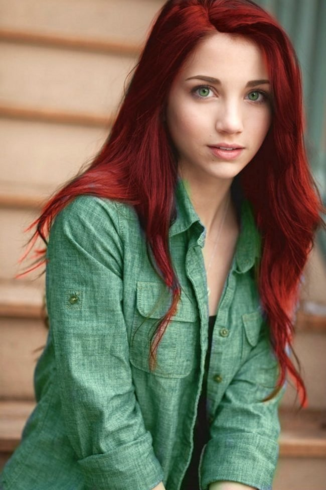 ryzhie_volosy_-7-650x975 Мелирование на рыжие волосы: фото до и после, окрашивание на медный цвет, с челкой и без, на короткие, длинные, крашеные
