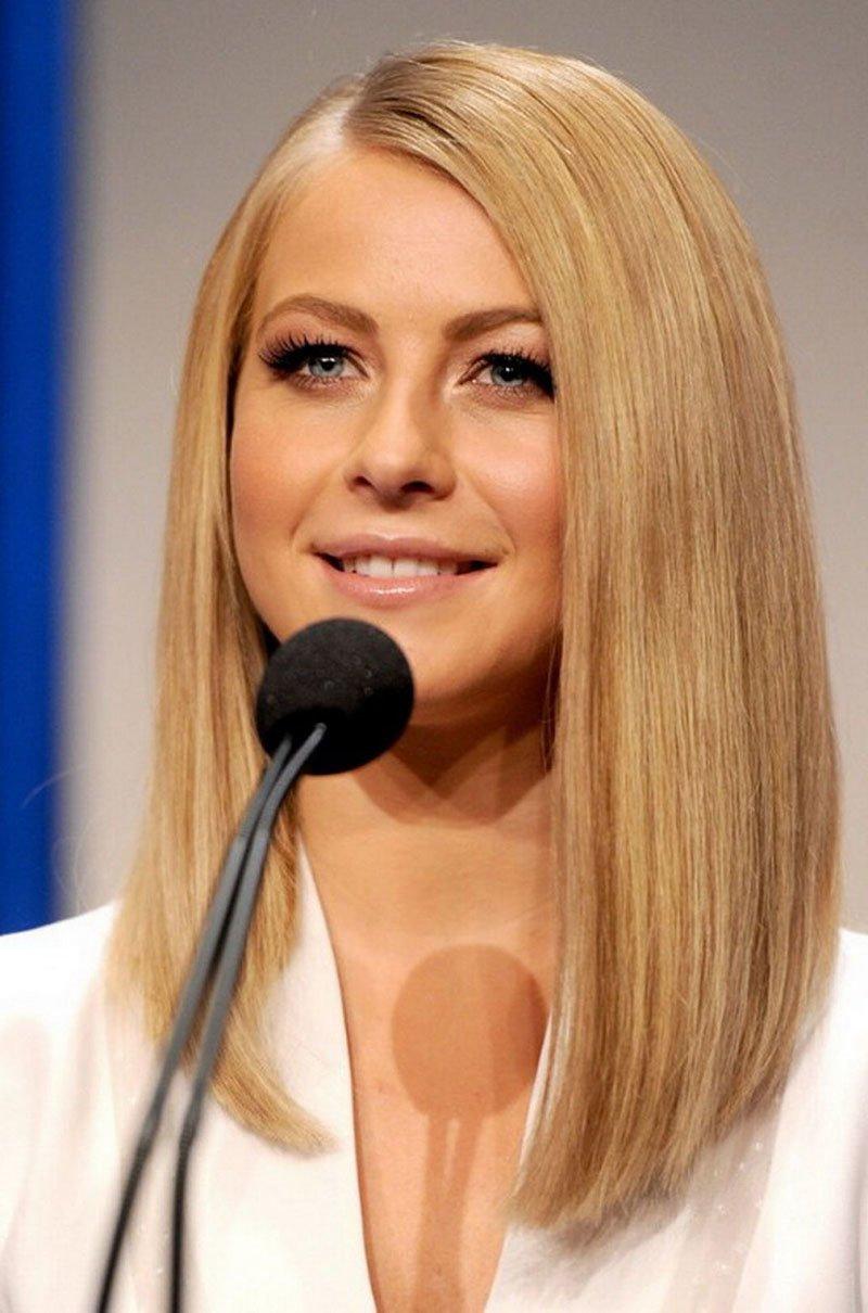 Стрижка для тонких волос каре с удлинением
