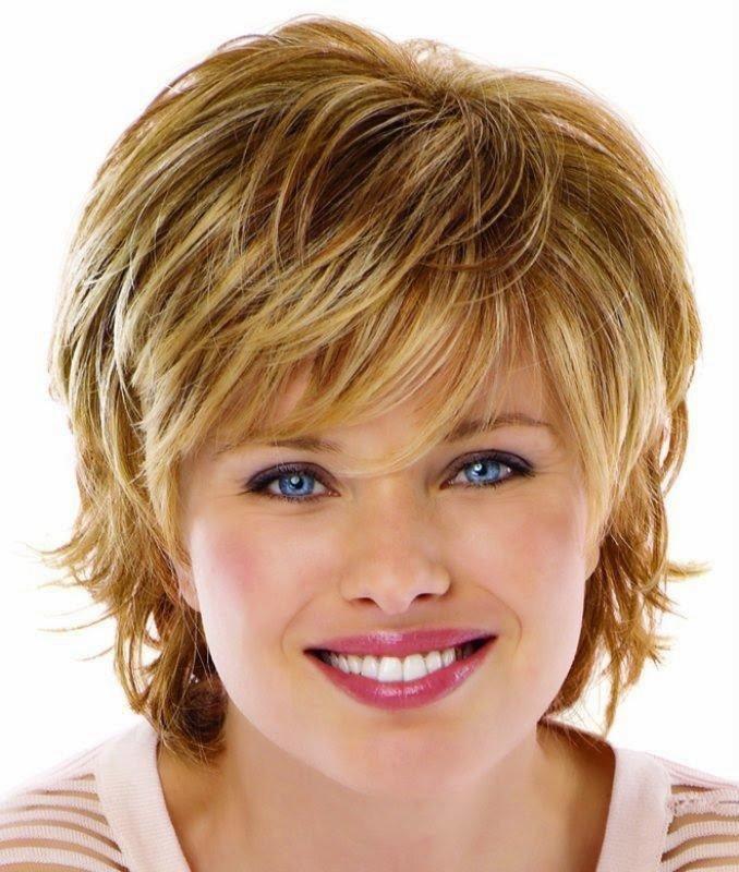 Стрижка круглое лицо на средние волосы